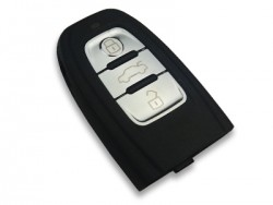 Audi - Audi 3 Buttons Smart Card Shell