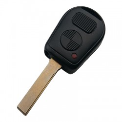 Bmw - Bmw 2 Buttons IR-Led Key Shell (Old Type)