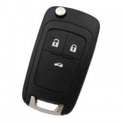 Chevrolet - Chevrolet 3 Button Remote Key (AfterMarket) (433 MHz, ID46)