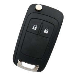 Chevrolet - Chevrolet 2 Button Flip Remote Key (Original) (GM 13500218, 433 MHz, ID46)