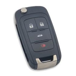 Chevrolet - Chevrolet Remote Key 4 Buttons (Original) (433 MHz, ID46)