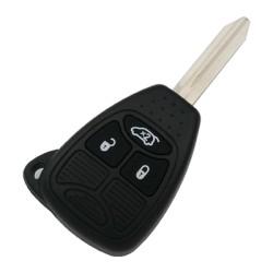 Chrysler - Chrysler/JEEP/DODG Remote Key (3button) (AfterMarket) (56040553AD, 433 MHz, PCF7961)