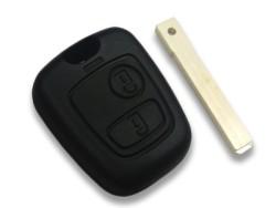 Citroen - Citroen Key Shell 2 button for Laser blade (China)