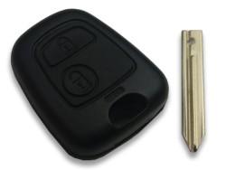 Citroen - Citroen Key Shell 2 button for Simplex blade