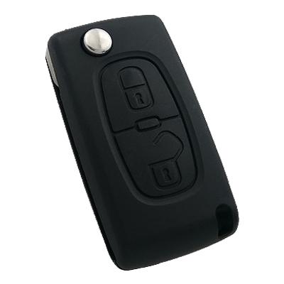 Citroen C2 C3 2 Buttons Remote Controls (Original) (433 MHz)