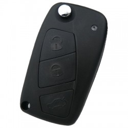 Citroen - Citroen Nemo flip remote key (AfterMarket) (433 MHz)