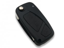 Fiat - Fiat Flip Key Shell 3 Buttons