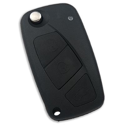 Fiat Flip Remote Key (Delphi) (AfterMarket) (433 MHz, PCF7946)