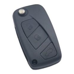 Fiat Flip Remote Key (Delphi) (AfterMarket) (433 MHz, PCF7946) - Thumbnail