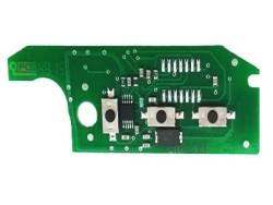 Fiat - Fiat Doblo 3 Buttons Repairment Board