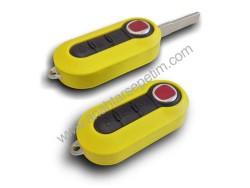 Fiat - Fiat Flip Remote Key (Magneti-Marelli) (Yellow)