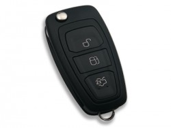 Ford - FORD 3 Buttons Flick Blade Remote Controls (Original) (5WK49986, 433 MHz, ID63)