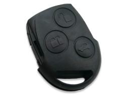 Ford - Ford 3 Button Remote Key (Original) (256T 15K601-BA, 433 MHz, ID63)