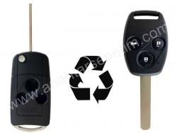 Honda - Honda 3 Buttons Modified Flip Key Shell