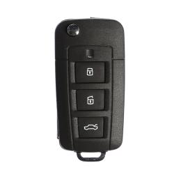 Hyundai - Hyundai 3 Buttons modified flip key shell