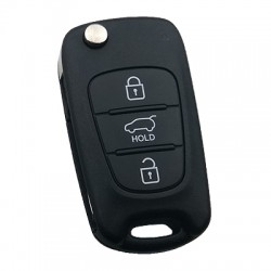 Hyundai - Hyundai i20 3 Button Flip Remote Key (Original) (45310 CE0628, 433 MHz, ID46)