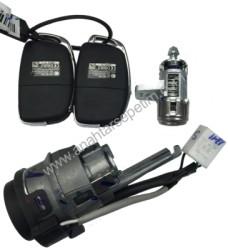Hyundai - Hyundai New I20 - I10 Lock Set PCF7938
