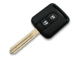 Nissan - Nissan Qashqai Micra Note Navara Remote (AfterMarket) (28268AX61A, 433 MHz, PCF7946)