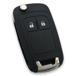 Opel - Opel Astra-J insignia 2 Button Flip Remote Key (Original) (GM 13574868, 433 MHz, ID46)