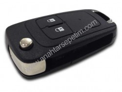Opel - Opel Insignia 2 Button Remote Key (Original) (GM 13500235, 433 MHz, ID46)
