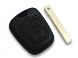 Peugeot - Peugeot Key Shell 2 button for Laser blade (China)