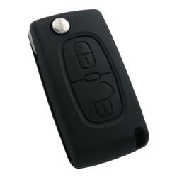 Peugeot - Peugeot 2 Buttons Remote Flip Key (Original) (652913, 433 MHz)