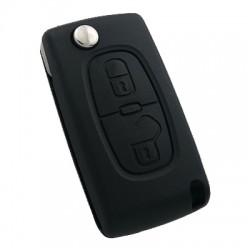 Peugeot 307 2 Buttons Remote Control (AfterMarket) (433 MHz, ID46) - Thumbnail