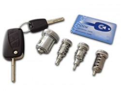 Peugeot - Peugeot Beeper Lock Set (Transponders locked)