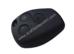 Renault - Renault Kangoo II 3 Button Remote with PCF7947