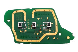 Renault - Renault Megane3 - Fluence Original 3 Buttons Remote Board