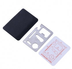 Fiat - Stainless Steel Multi Function Card (Spend 200 USD, selected product is free)