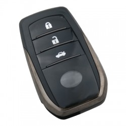 Toyota 3 Buttons Smart Key Shell 2016+ - Thumbnail
