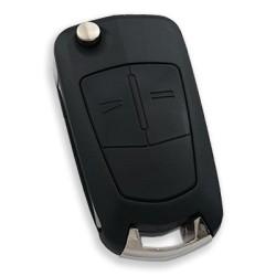 Opel - Opel Vectra C 2 Buttons Remote Key (Delphi Orjinal) (Original) (433 MHz, ID46)