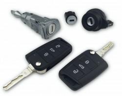 Volkswagen - Volkswagen Golf 7 Lock Set