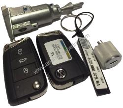 Volkswagen - Volkswagen Golf 7 Lock Set (Kessy)