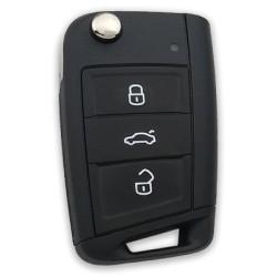 Volkswagen - Volkswagen Golf7 FFB Remote Key (315MHZ; 5G0 959 753 BF, Original)