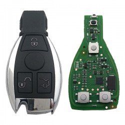 Xhorse - Xhorse Mercedes BE Chrome Remote 433-315MHz 3 Buttons