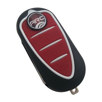 Alfa Romeo Giulietta 3 Button Flip Remote Key (Magneti-Marelli, Giulietta) (AfterMarket) (433 MHz, PCF7946)