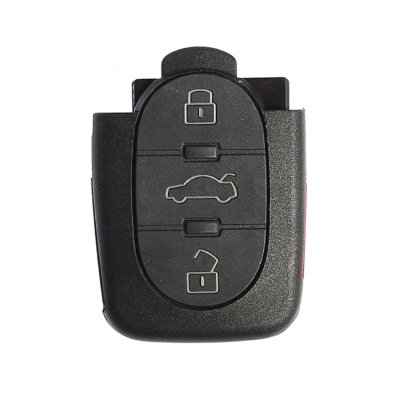 Audi 3 Buttons Key Shell (For Big Battery)