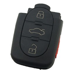 - Audi 3+1 button control remote and the remote model number is 4DO 837 231 M 315MHZ