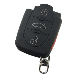 - Audi 3+1 button remote key with big battery 434MHZ the remote control model is 4D0 837 231 K