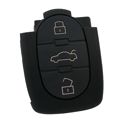 Audi A Series 3 buttons Remote Control (AfterMarket) (433 MHz)