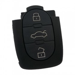 Audi - Audi 3 button remote control with big battery 434MHZ the remote control model is 4D0 837 231 A