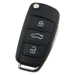 - Audi A6L Q7 3 button remote key with 8E chip & 315mhz FSK