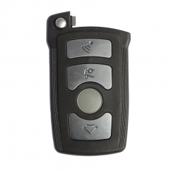 Bmw 4 Button Smart Key Shell - Thumbnail