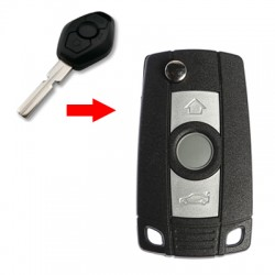 Bmw - Bmw 4-Track Modified Flip Key Shell