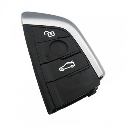 Bmw Yeni G Series 2 Buttons Smart Key Shell - Thumbnail