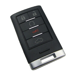 Cadillac - Cadillac Smart key shell with 5 buttons