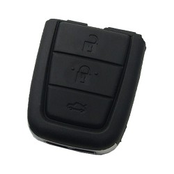 - Chevrolet black 3+1 button remote key with 434mhz