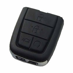 - Chevrolet black 5 button remote key with 434mhz